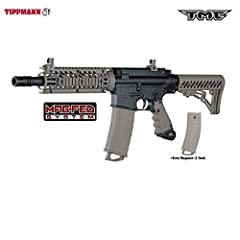 Tippmann's latest .68 Caliber MagFed Extremely Authentic Milsim Styled Tactical Paintball Marker THE MOST REALISTIC MILSIM SCENARIO PAINTBALL GUN ON THE FIELD! Dual feed option: Go MagFed or Traditional Loader and Get the Best of Both Worlds in One A...