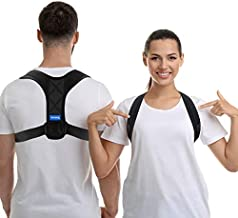 Posture Corrector for Women Men - USA Designed Upper Back Brace Posture corrector - Posture Brace Posture Support Brace for Providing Pain Relief from Neck, Back & Shoulder