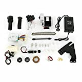 Kit de conversión para bicicleta eléctrica, 24 V, 350 W, 22 - 28 pulgadas, motor de bicicleta eléctrica