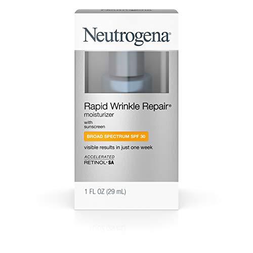 Neutrogena Rapid Wrinkle Repair Daily Hyaluronic Acid Retinol Face Moisturizer, Anti Wrinkle Face...