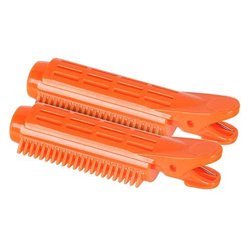 Special&Kind Lot de 2 pinces à cheveux professionnelles antidérapantes en plastique Multicolore