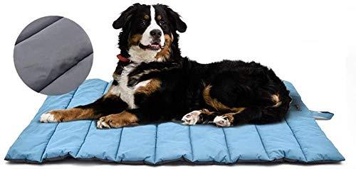 XIAPIA Cama Perro Impermeable Colchoneta Almohada Relajante Perro 110x66cm Camas para Perros Colchón Perros Viscoelastica Cojines Lavable Impermeable para Perros Medianos,Grande