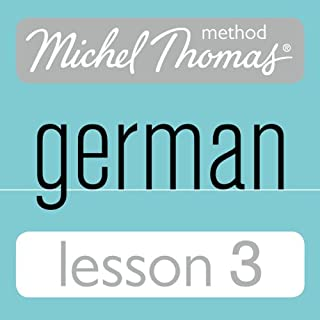Michel Thomas Beginner German, Lesson 3 cover art
