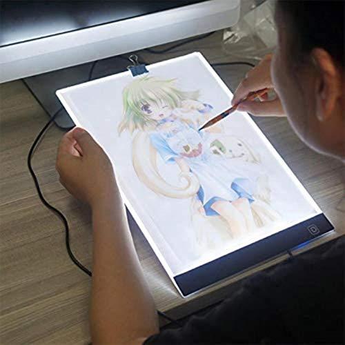 BALLSHOP LED A4 Lichttisch Leuchttisch Leuchttablett Leuchtpult Dimmbar Design Artcraft