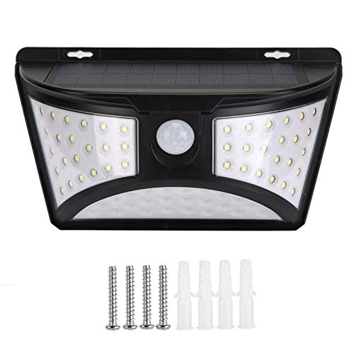 Lámpara Solar de 3 Lados Luz Solar para jardín Luz Exterior para jardín para Decorar e iluminar