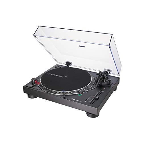 Tocadiscos AUDIO-TECHNICA AT-LP120XUSB/BK Color Negro, con USB Plug & Play