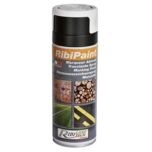 Ribimex PRSMARBC Marcatore Spray Bianco, 24x6.5x6.5 cm