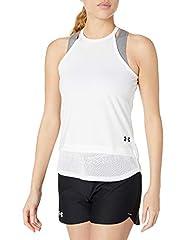 Armour Sport Camiseta Deportiva Sin Manga Blanco para Mujer - 1351597