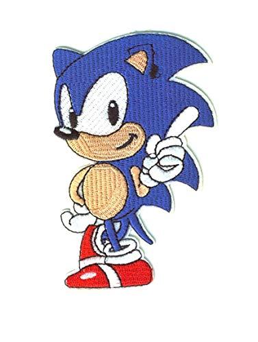 Parche Termoadhesivo de Sonic - Iron-on Patches para personalizar su ropa o bolsos - Crea tu propio estilo! - Varios modelos disponibles