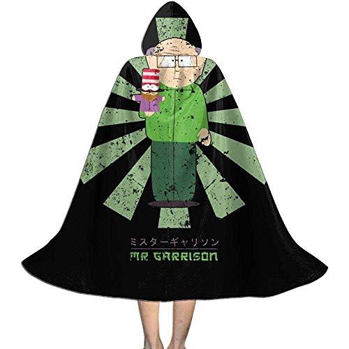 Not Applicable Zauberermantel,Herr Garrison Retro Japaner South Park Premium Hexenzauberer Kostüme Für Festival Holiday Party 118cm