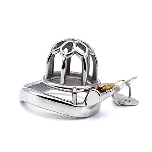 N\A Jogginghose Pleasant SM Fun Requisiten, Kurzversion des Delay Ring Chastity Lock für Herren, geeignet für Männer, die Lange Reisen oder Sonnenbrillen Reisen (Größe: 45 mm)