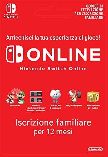 365 Giorni Switch Online Membri (Famiglia)   Nintendo Switch - Codice download