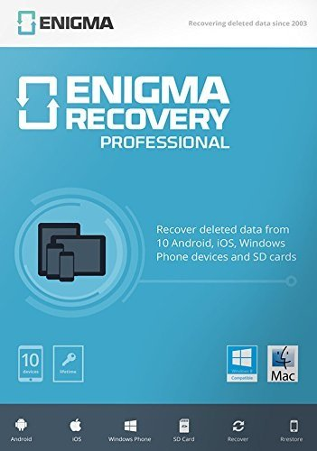 Enigma Recovery - Professional (10 devices / 1 Year) - 10 devices / 1 Year [Mac]
