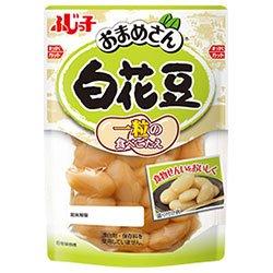 フジッコ おまめさん 白花豆 145g×10袋入×(2ケース)
