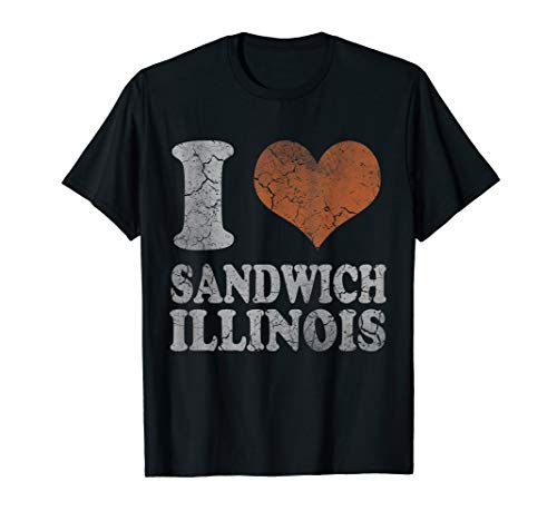 Retro Sandwich Illinois T-Shirt