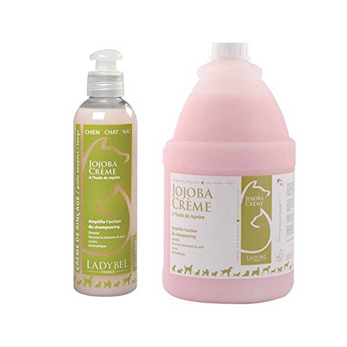 Ladybel - Crème de rinçage Ladybel Jojoba Crème Contenances : 400 ml
