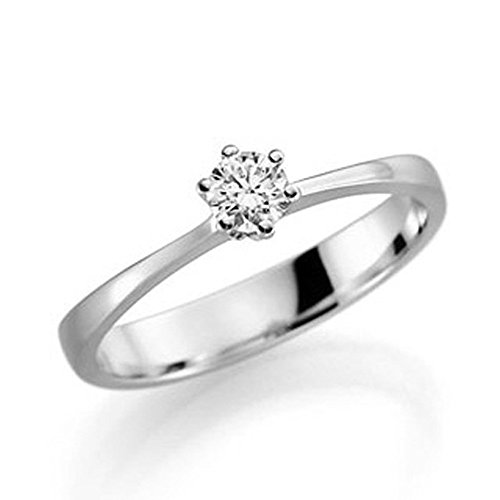 Verlobungsring Antragsring Schmuck Ring Vorsteckring Gold Weißgold BRILLANT TOP