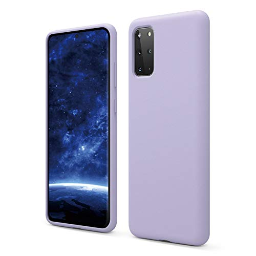 elago Galaxy S20 Plus Silicone Case - Designed for Samsung Galaxy S20 Plus Case (Lavender)