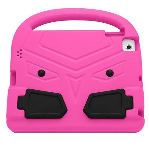 zhishen Funda para iPad 4 9,7 Pulgadas Funda Protectora de Tableta Bonita para niños Funda Protectora de Mano de Espuma EVA a Prueba de Golpes para iPad 2/3-Rosa roja