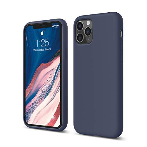 """Elago Silicone Liquido Custodia Cover Compatibile con iPhone 11 Pro Case (5.8""""), Silicone Liquido Premium, Protezione Full Body : Case Antiurto 3 Strati (Jean Indigo)"""
