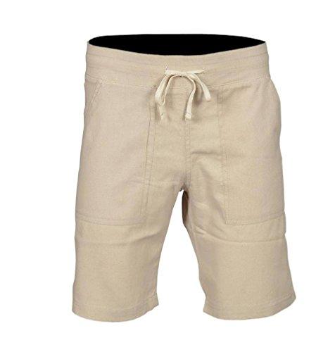 Sterling Sports® Heren Linnen Shorts Casual Broeken Zomer Vakantie Strand Bottoms S M L XL XXL Chinos 30 32 34 36 38 40