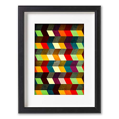 Boris Draschoff Hochwertiger Kunstdruck, Poster, Print - Brillante Farben - Künstler A2, 420 mm x...