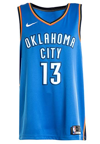 Nike Russell Westbrook Oklahoma City Thunder Swingman Icon Edition Blue Jersey - Men's XL (X-Large)