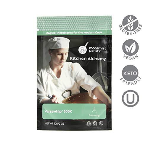 Food Grade VersaWhip® 600K (Molecular Gastronomy) ⊘ Non-GMO ☮ Vegan ✡ OU Kosher Certified - 50g/2oz
