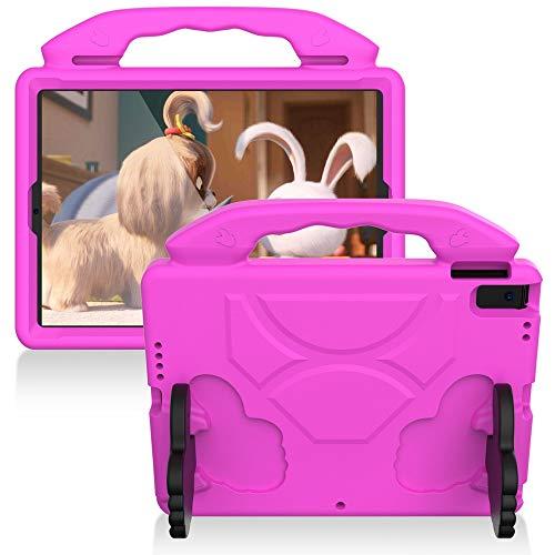 DYHQQ IPad Mini Hülle für Kinder, robuste Eva Foam Schutztablette Hülle mit Händel und Ständer für Apple iPad Air 3 2019 Pro 10.5 2017 A1701 A1709 A2123 A2152,E