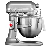 KitchenAid KEF97AS Batedeira Stand Mixer Profissional, Contour Silver, 7.6L