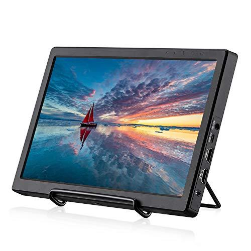 KALESMART Portable Gaming Monitor 11.6 Inch IPS 1920X1080 Double HDMI Monitor Full HD Display for PC PS3 PS4 WiiU XBOX One S Raspberry Pi 4B 3B+ 2 1 Model B B+ Windows 7 8 10 System Home Office(Black)