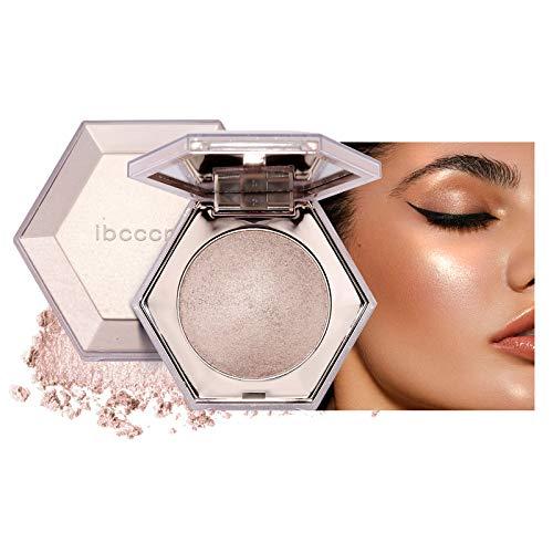 Mimore Polvo iluminador Diamante Highlight Paleta de resaltado Resplandor de maquillaje facial Polvo iluminador brillante (02)