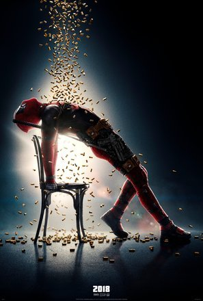 Deadpool 2 – Ryan Reynolds – Film Poster Plakat Drucken Bild - 30.4 x 43.2cm Größe Grösse Filmplakat Flashdance