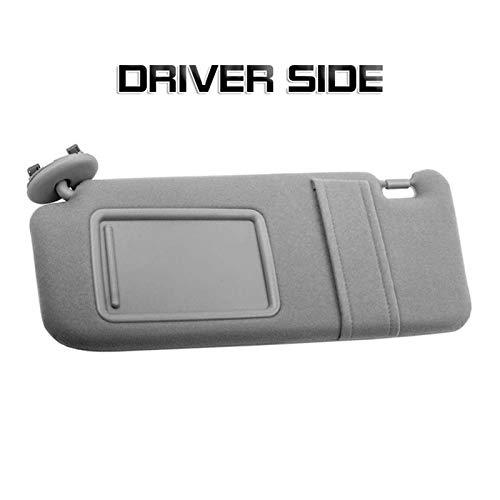 Rumors 2pcs Car Sun Visor Driver & Passenger Side (Color : Left)