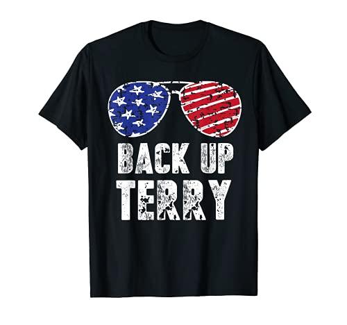 Copia de seguridad Terry Gafas de sol 4 de julio Nosotros Bandera Fuegos Artificiales Camiseta