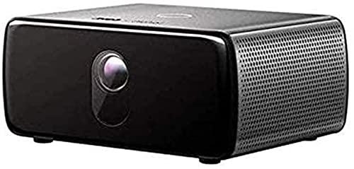 XUERUIGANG Proyector 1080P, proyector de Video Full HD, proyector de Cine en casa LED Compatible con teléfono, PC, TV Caja, PS4, WiFi, Bluetooth, proyector multifunción (Color: Negro)
