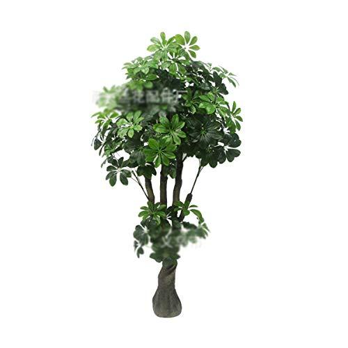 FENXIMEI Simulatie van binnen- en buitenbomen, schudden van geld, geldboom, bonsai plastic nepboom tropische planten