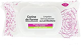 Makeup Remover Wipes By Corine De Farme 25 Wipes, Pack of 1