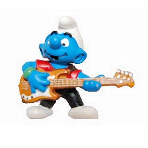 SCHLEICH The Smurfs Figure - The Bassist Smurf (20450)