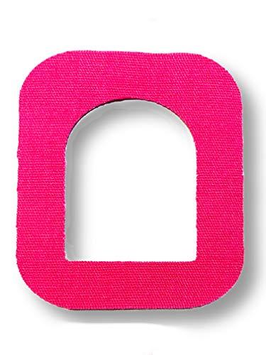 FixTape atmungsaktives Fixier-Tape für OmniPod I selbstklebendes Patch mit Loch für schlauchlose Insulin-Pumpe I besonders hautfreundlich und wasserfest in modernen Designs I 7 Stück (Pink)