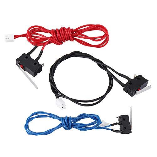 ExcLent 3Pcs Um2 Standard Version Elevated Edition 3 Color Limit Switch Endstop Switch Kit For 3D Printer