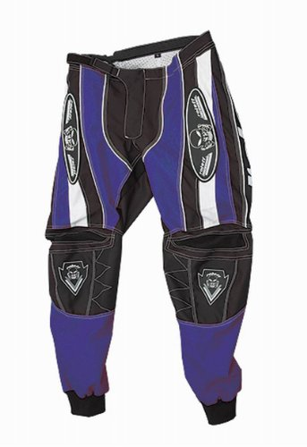 Roleff Racewear Motocross Hose, Schwarz Blau, Größe XXL
