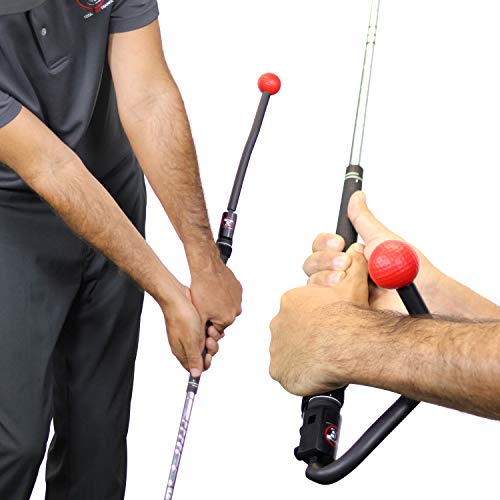 TOTAL GOLF TRAINER - Golf Swing Training Aid - Golf Training Aid - Multi Tool in Golf - Reinforce Fundamentals and fix All of Your Swing Faults. Improve Your Full Swing, Pitching and Chipping