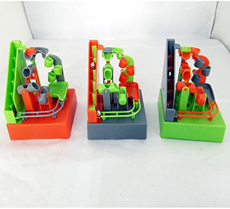 9912   Amaze Balls The Untercer – Elektronische Bausteine, für den Schreibtisch, Marmor, Spielzeug, Bausteine mit Musik und Licht