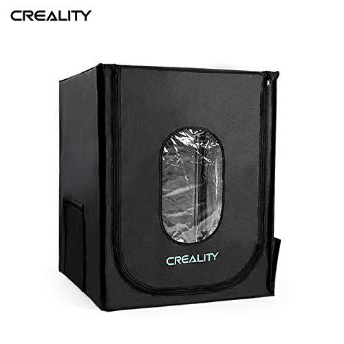 Leepus Creality 3D Custodia protettiva per stampante 3D Custodia ignifuga Conservazione del calore ignifuga Compatibile con serie Ender-3/Ender-5/Ender-5S/CP-01/CR-10/CR-10S/CR-10S4/CR-10S5