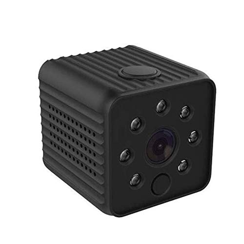 SYLOZ-URG Mini cámara espía Camaras Espias Ocultas Small Nanny Camera 1080P HD Cámara Vigilancia Portátil Secreta Compacta con Detector de Movimiento IR Visión Nocturna, para iPhone/Android SYLOZ-URG