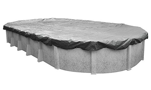Robelle 331833-4 Platinum Winter Pool Cover for Oval Above Ground Swimming Pools, 18 x 33-ft. Oval...