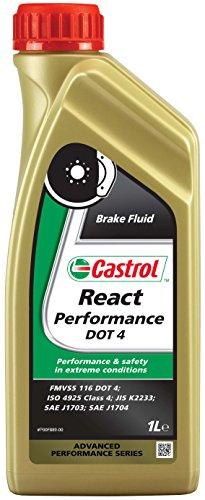 Castrol 15 A1EC React Performance DOT4 Liquido Freni