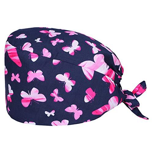 None Forschungsraum Zahnarzt Baumwolle Schweißabsorbierende Arbeitshüte, Fabrik Kantine Küche Stirnband Kopfwickel, Unisex Haarpflege Hüte Schönheit Hüte