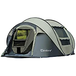 Candora 4-6 Person Pop up Family Tent
